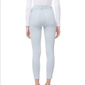 Good American Jeans - Good American Baby blue002 Good Legs Crop